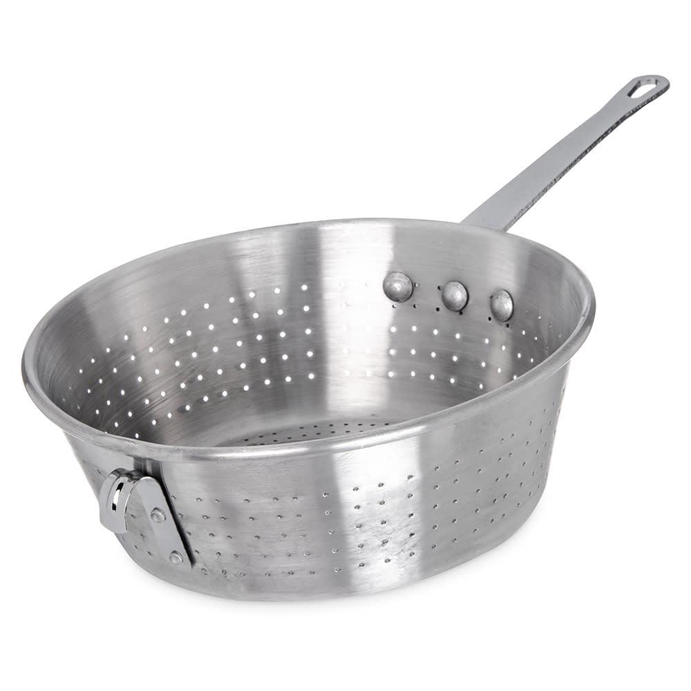 "Carlisle 60830 11.125"" Round Spaghetti Strainer - Aluminum"