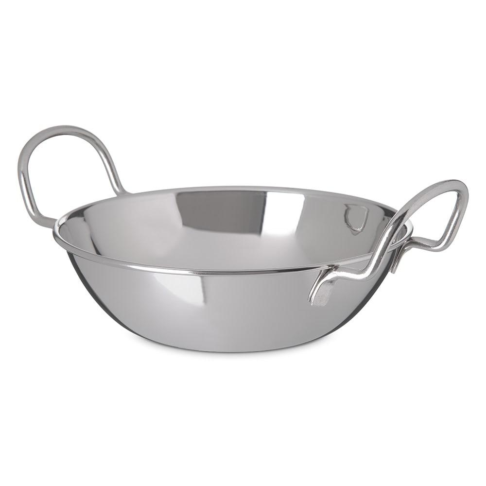 "Carlisle 609093 6.75"" Round Balti Dish w/ 30-oz Capacity, Stainless"