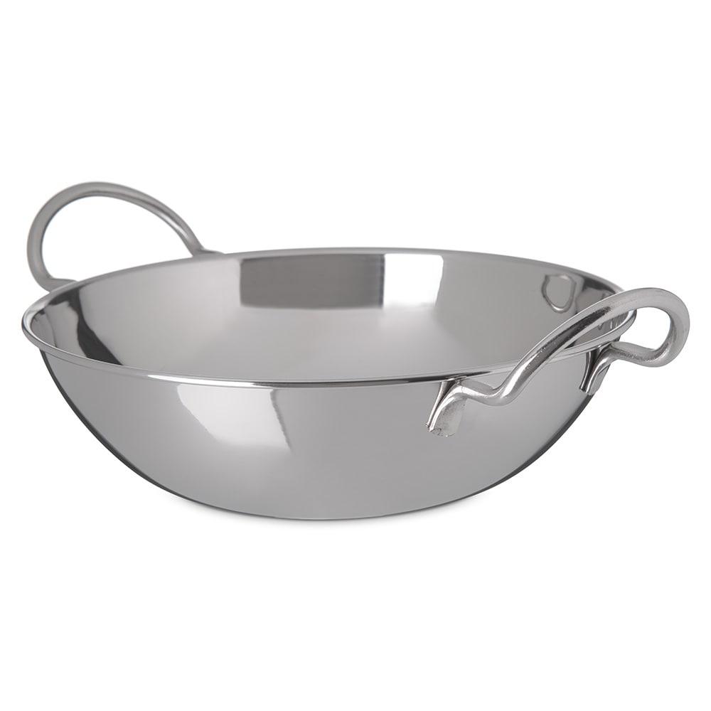 "Carlisle 609096 9.5"" Round Balti Dish w/ 72-oz Capacity, Stainless"