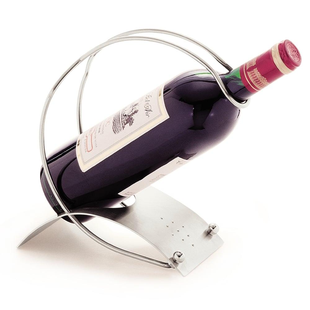 Carlisle 609106 2 Ring Wine Holder w/ Base, Stainless