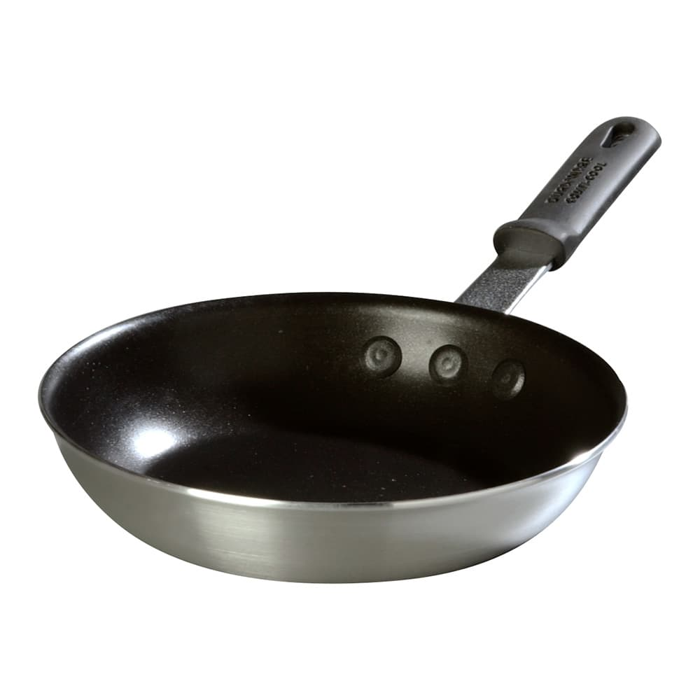 """Carlisle 60910SERS 10"""" Non-Stick Aluminum Frying Pan w/ Solid Silicone Handle"""