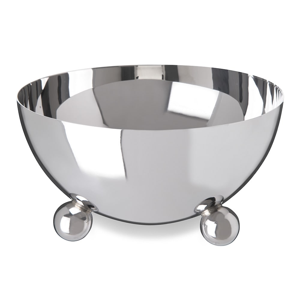 "Carlisle 609171 5.25"" Round Serving Bowl w/ 20-oz Capacity, Stainless"