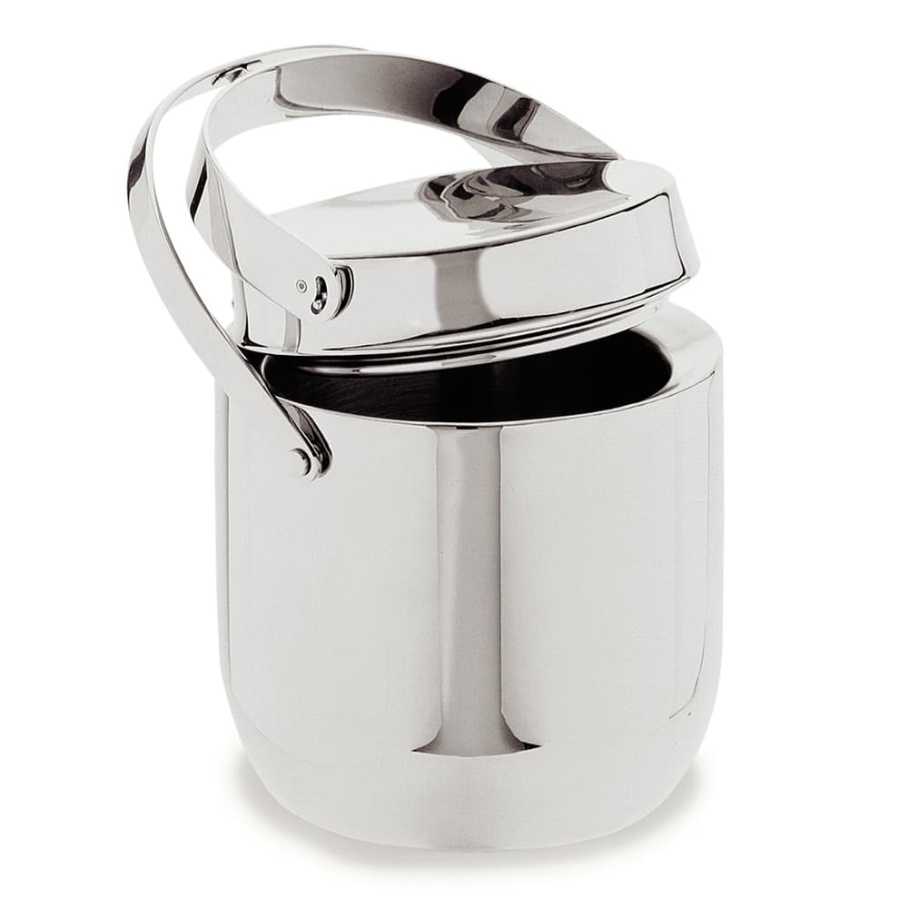 Carlisle 609190 1.5 qt Ice Bucket w/ Hinged Lid, Stainless