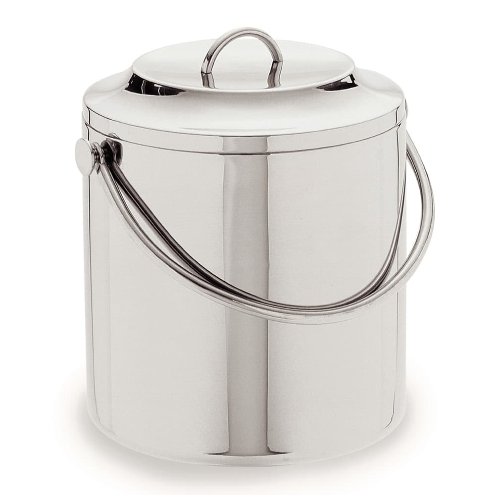 Carlisle 609193 3.5 qt Ice Bucket w/ Lift-Off Lid, Stainless