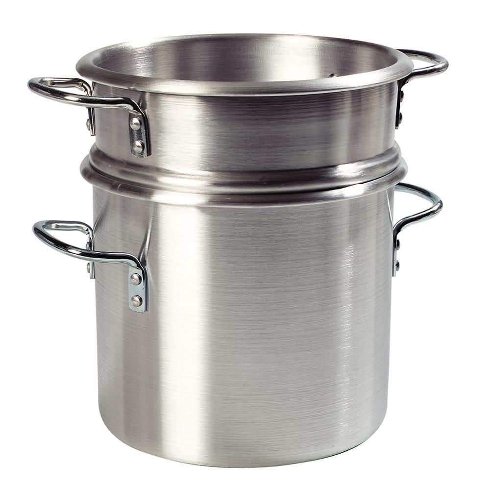 "Carlisle 60921 10"" Round Double Boiler w/ 12-qt Capacity, Aluminum"