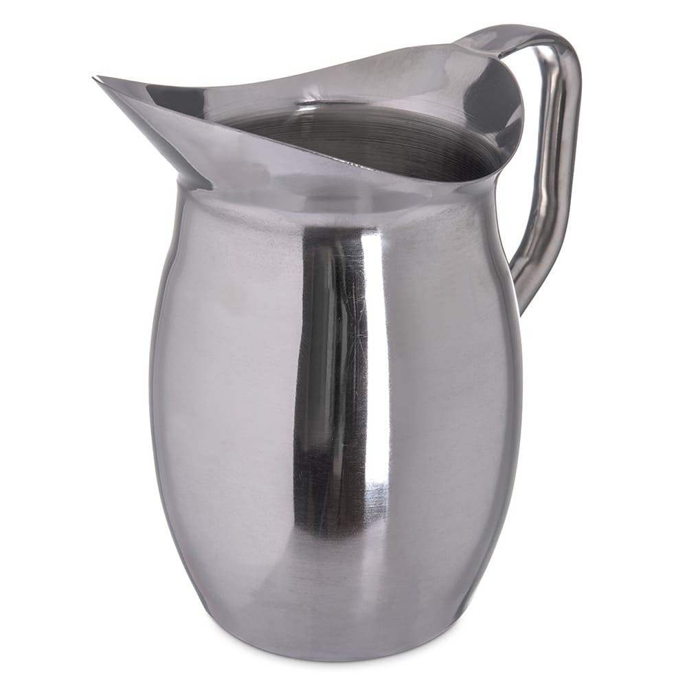 Carlisle 609270 2-qt Bell Pitcher - Stainless