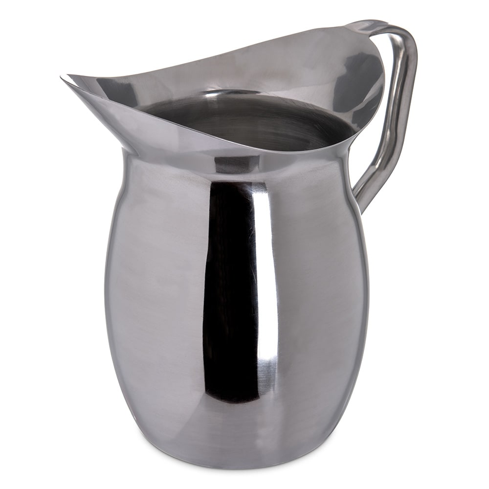 Carlisle 609273 3 qt Bell Pitcher - Stainless