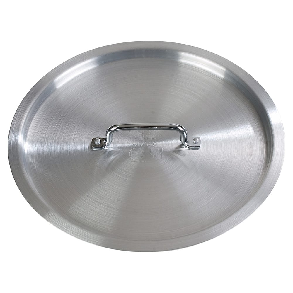 "Carlisle 61232C 14-1/4"" Flat Stock Pot Cover - Aluminum"