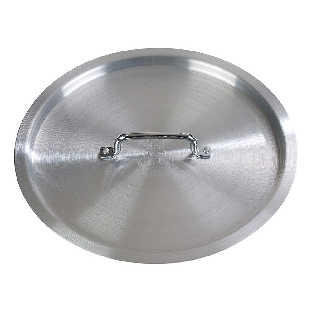 "Carlisle 61280C 20"" Stock Pot Cover for 61280, Aluminum"