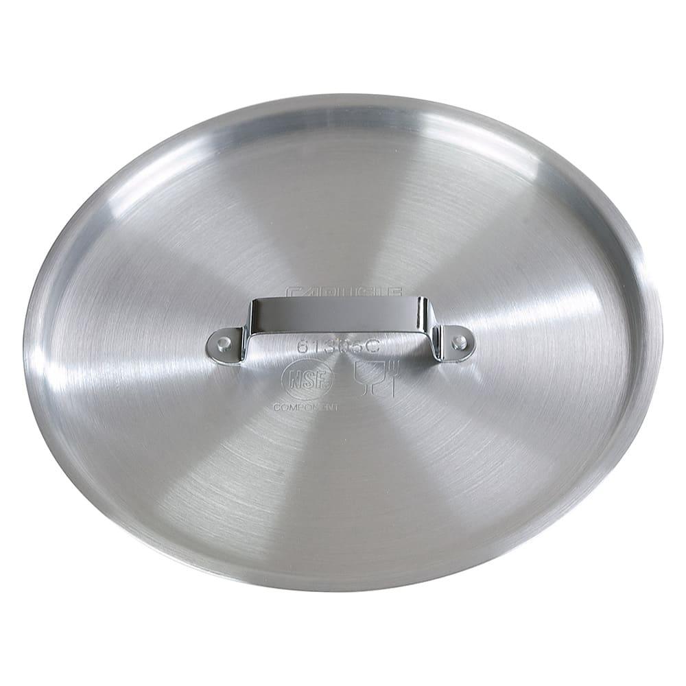 "Carlisle 61305C 10"" Flat Saucepan Cover for 61035 - Aluminum"