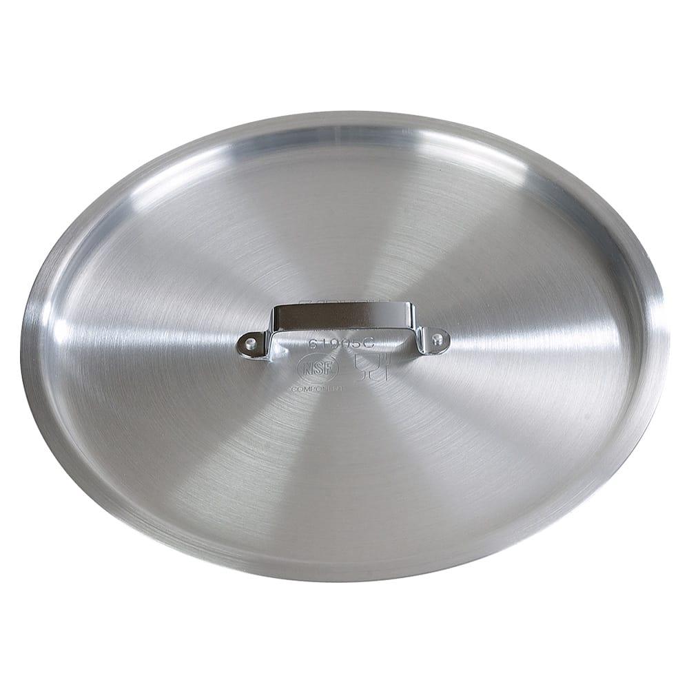 """Carlisle 61905C 12.75"""" Flat Saucepan Cover - Aluminum"""
