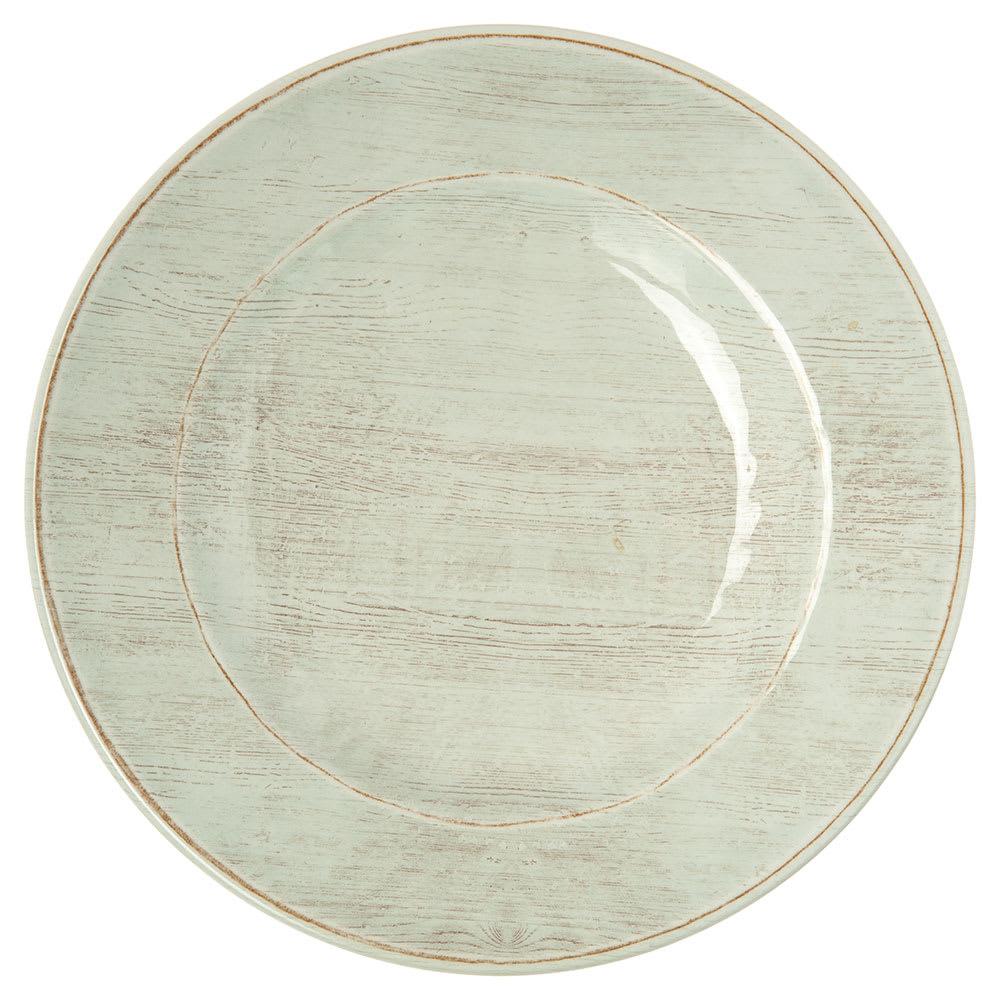 "Carlisle 6400206 9"" Round Salad Plate - Melamine, Buff"