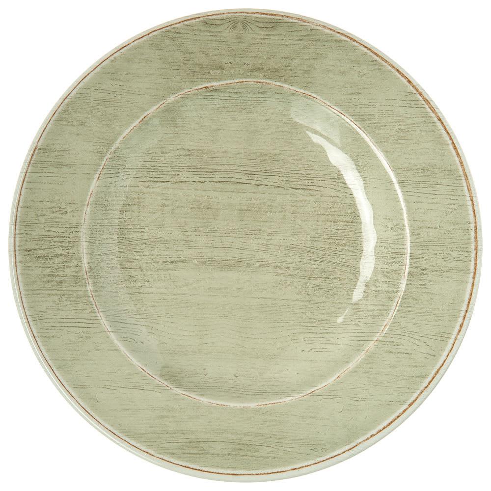 """Carlisle 6400246 9"""" Round Salad Plate - Melamine, Jade"""