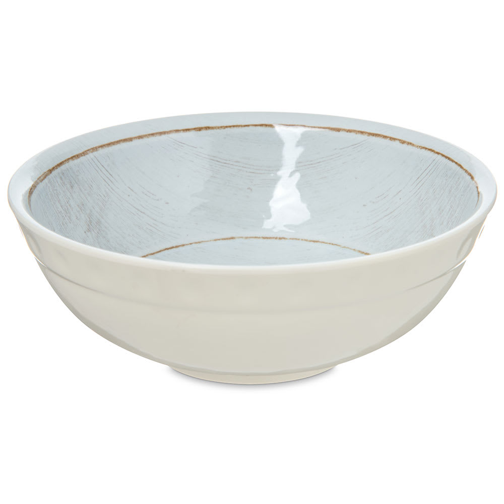 Carlisle 6400506 20 oz Grove Soup Bowl - Melamine, Buff