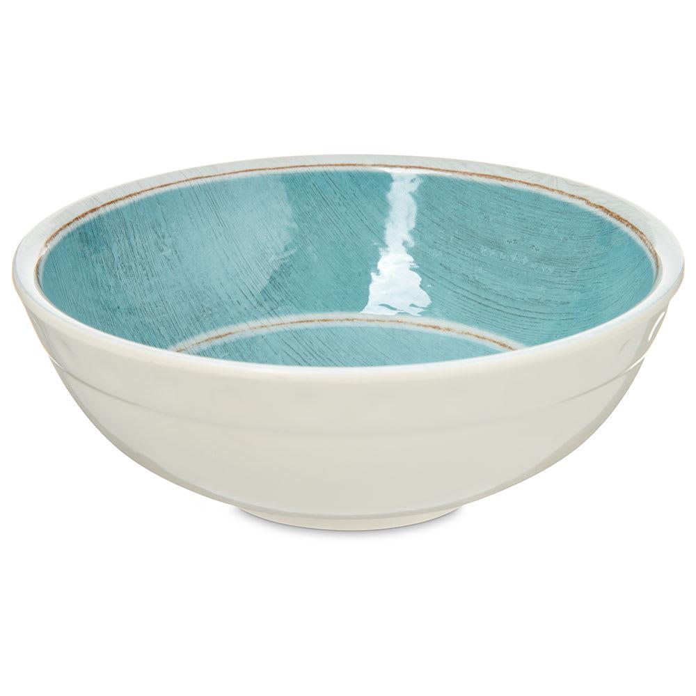 """Carlisle 6400515 6"""" Round Soup Bowl w/ 20 oz Capacity, Melamine, Aqua"""