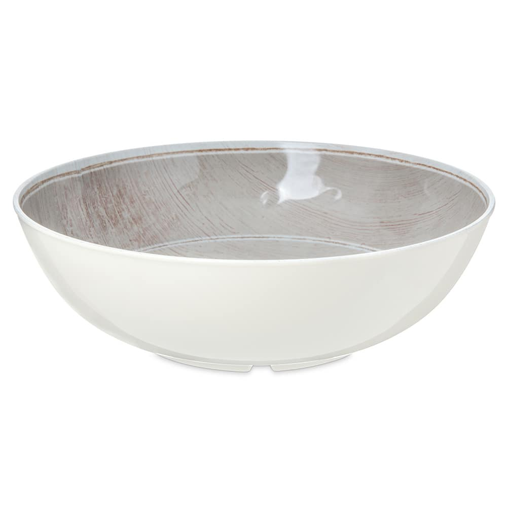 "Carlisle 6401770 14.75"" Round Large Bowl w/ 5.2 qt Capacity, Melamine, Brown"