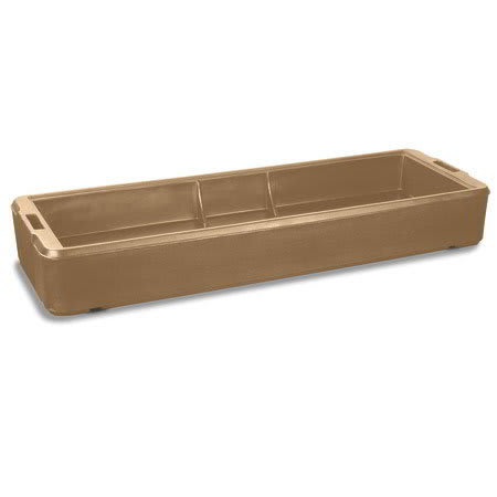 Carlisle 660306 6' Food Bar Basin - Polyethylene, Beige