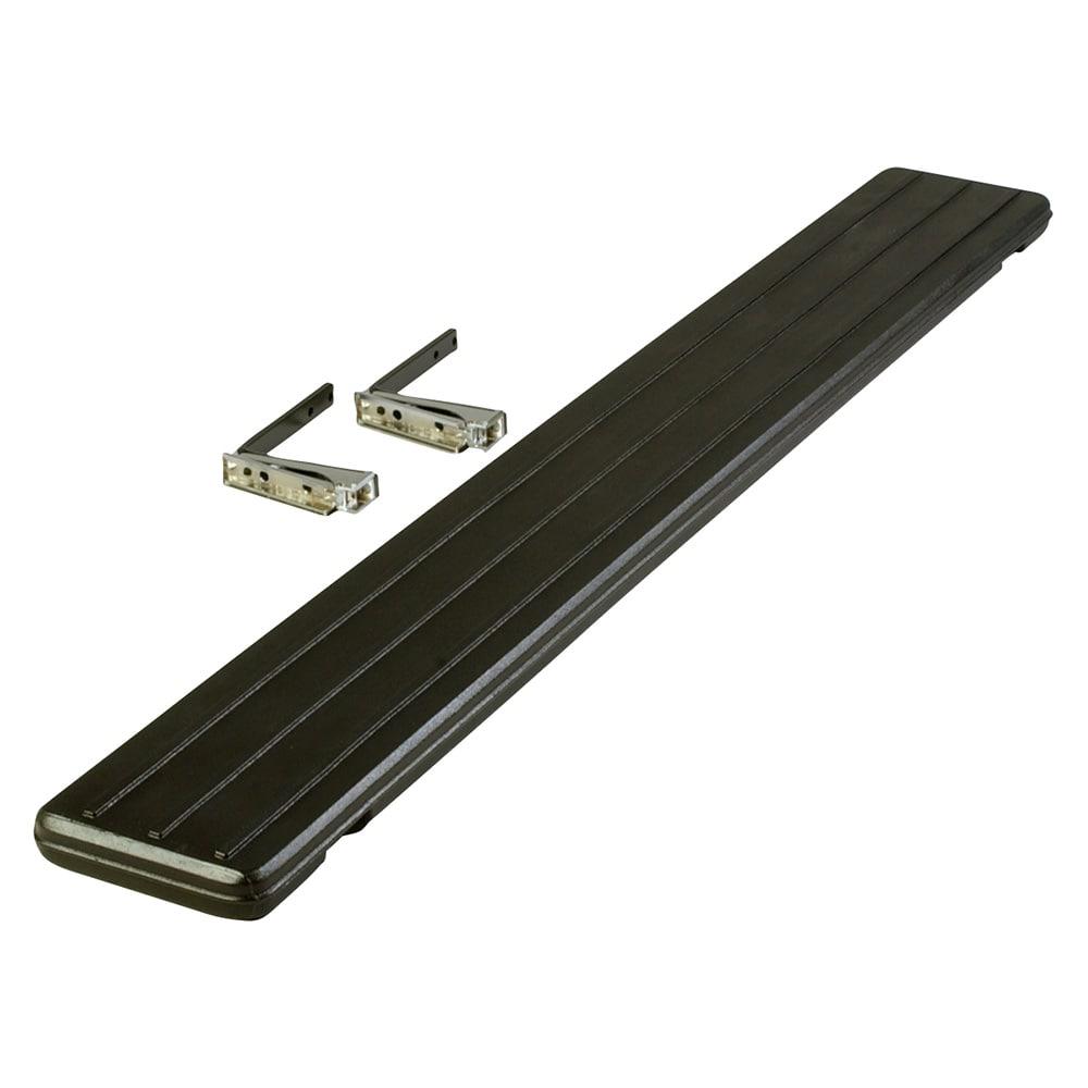 "Carlisle 662103 Food Bar Tray Slide - Drop Down, 68 3/4x8 1/2x1 3/4"" Black"
