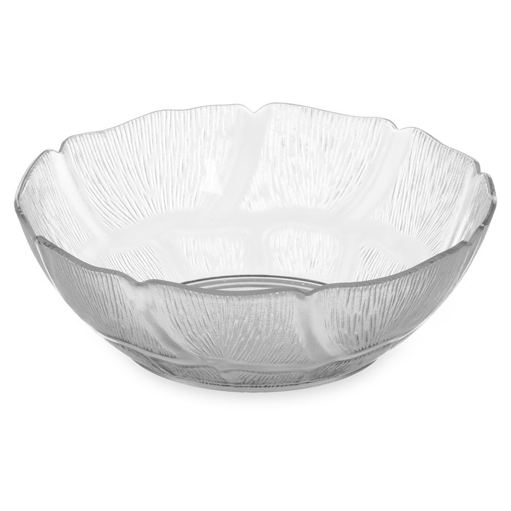 "Carlisle 690407 6"" Round Salad Bowl w/ 18 oz Capacity, Polycarbonate, Clear"
