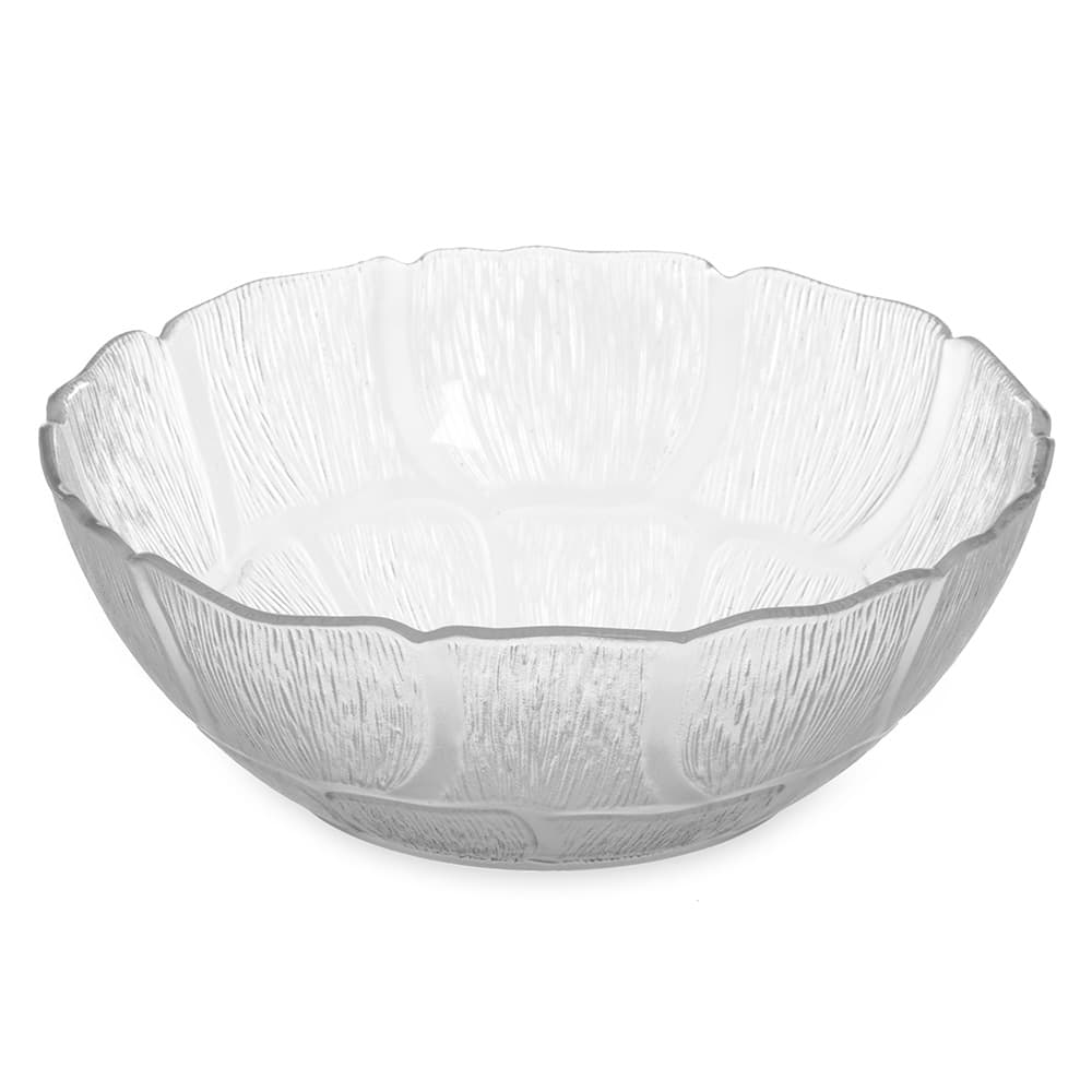"Carlisle 690807 7.5"" Round Serving Bowl w/ 1.3-qt Capacity, Polycarbonate, Clear"