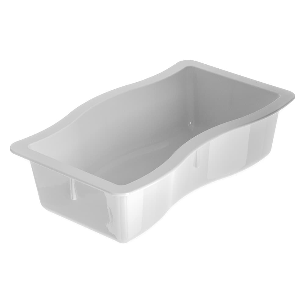 Carlisle 698402 Half Size Food Pan - Polycarbonate, White