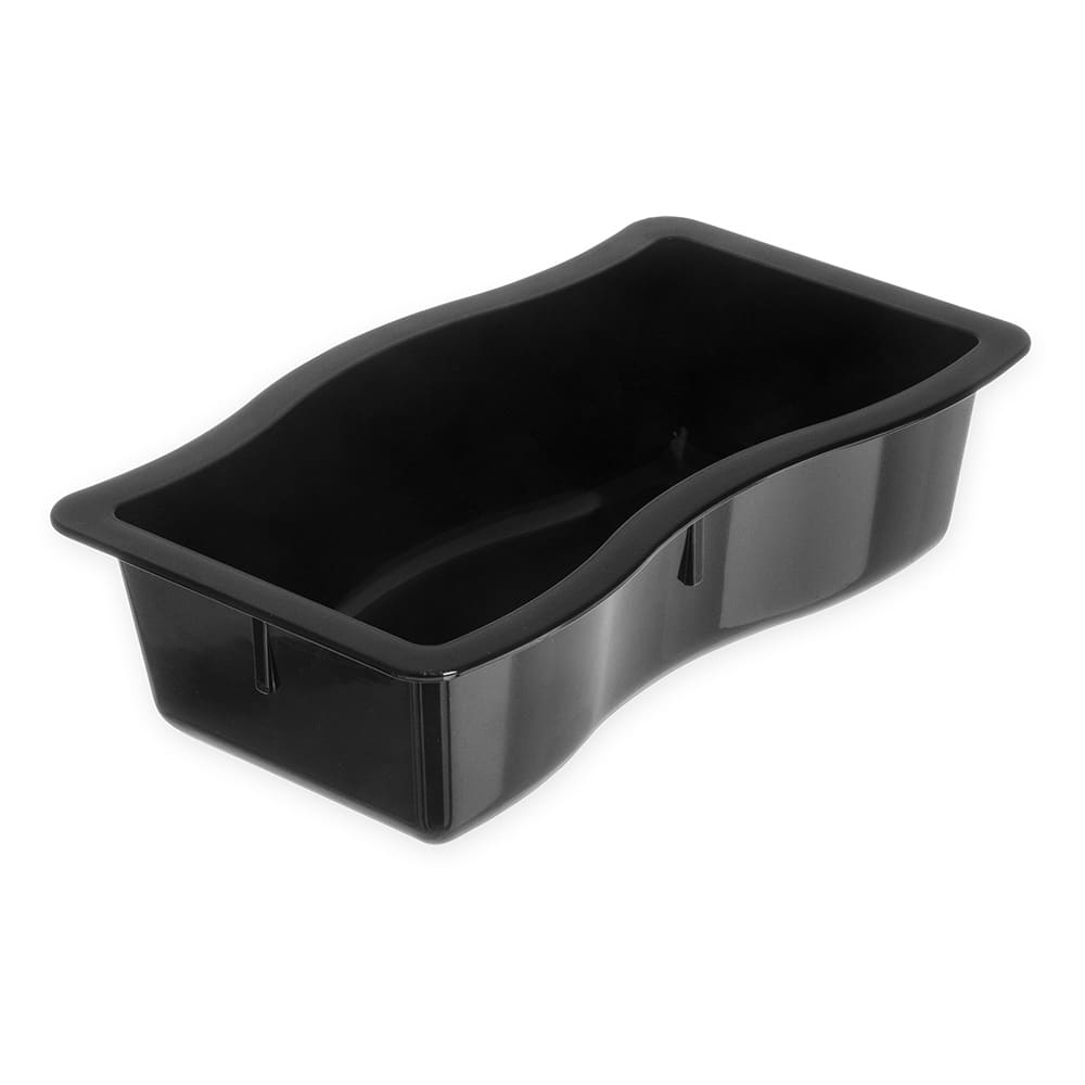 Carlisle 698403 Half Size Food Pan - Polycarbonate, Black