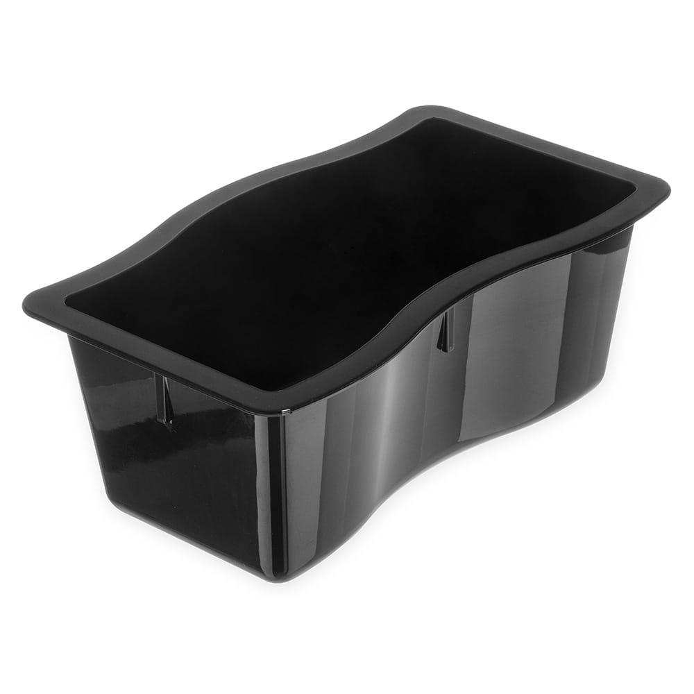Carlisle 6984403 Half Size Food Pan - Polycarbonate, Black