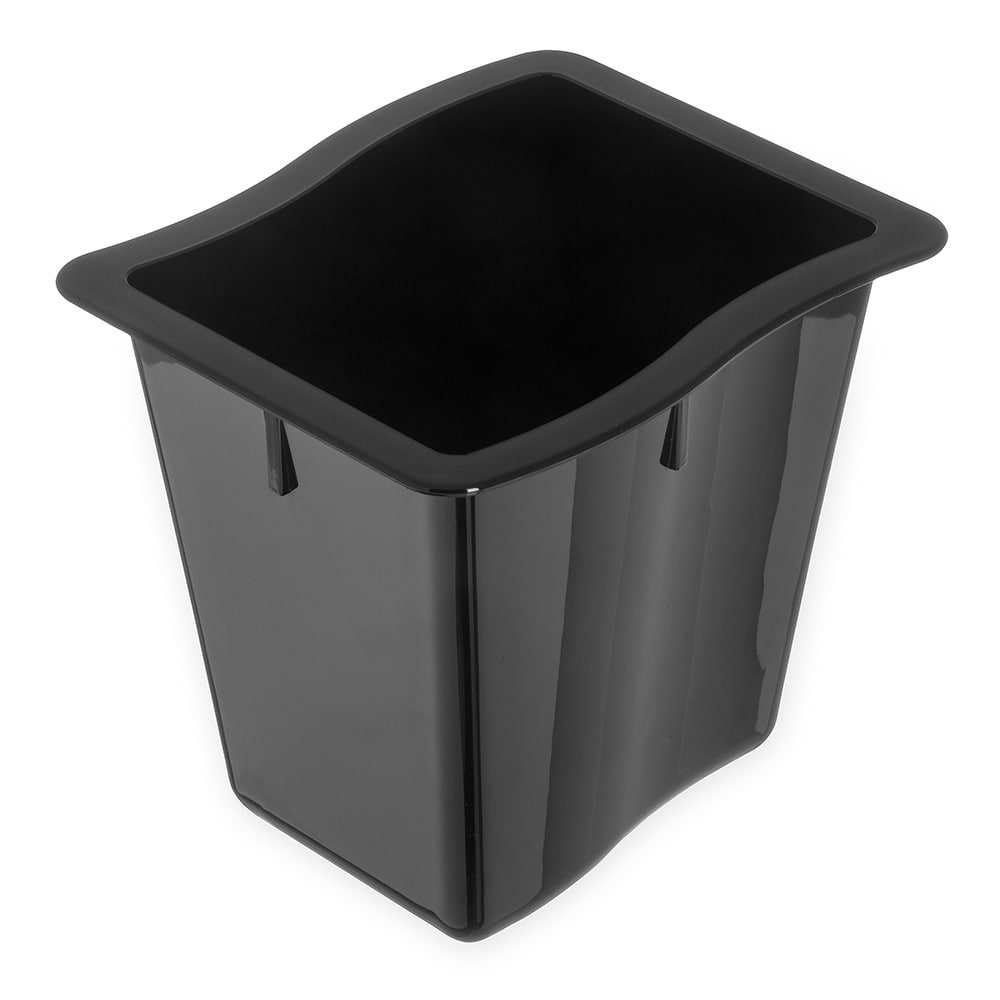 Carlisle 6986603 Third Size Food Pan - Polycarbonate, Black