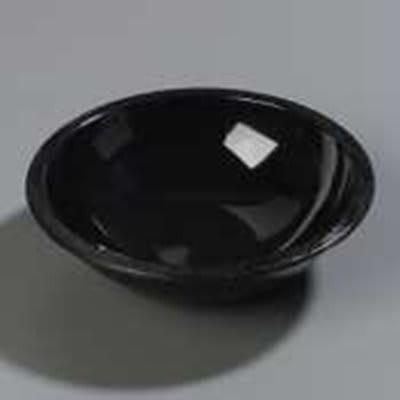 Carlisle 708003 1.1-qt Salad Bowl, Black SAN
