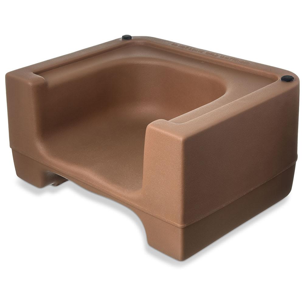 Carlisle 711006 Dual-Height Booster Seat - Polyethylene, Beige