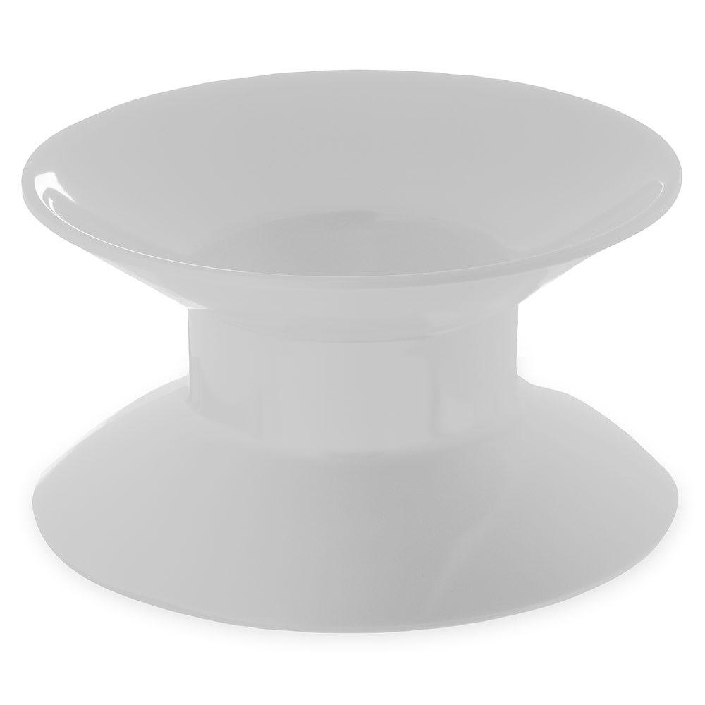 "Carlisle 790002 2.75""H Round Display Riser - Melamine, White"