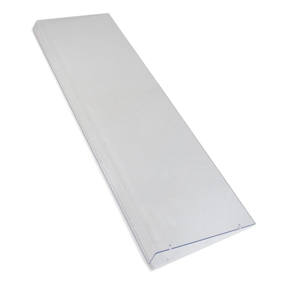 "Carlisle 937507 73.375"" Sneeze Guard Shield - Acrylic, Clear"