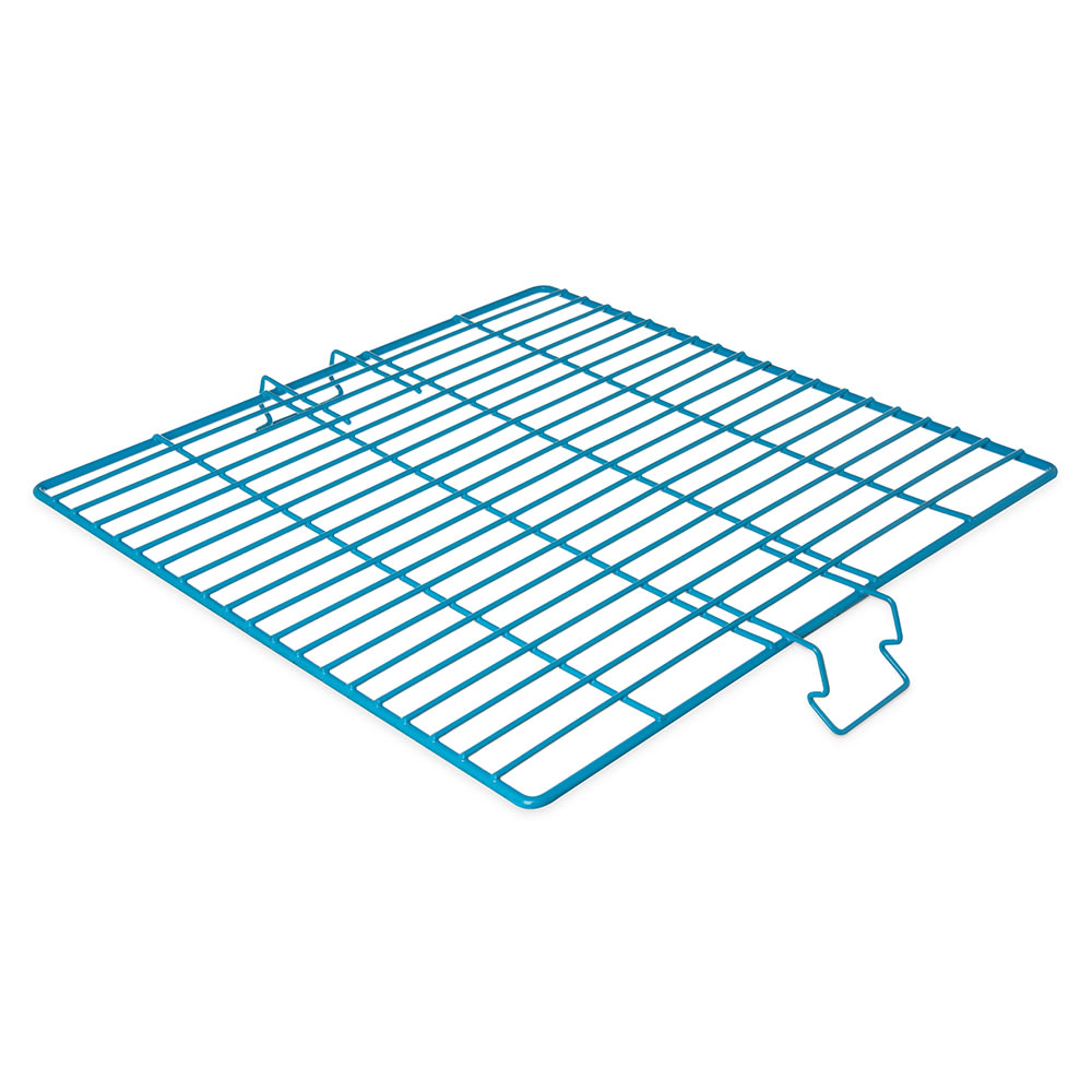 "Carlisle C9314 17.875"" Square Hold Down Grid - Vinyl Coated Wire, Blue"