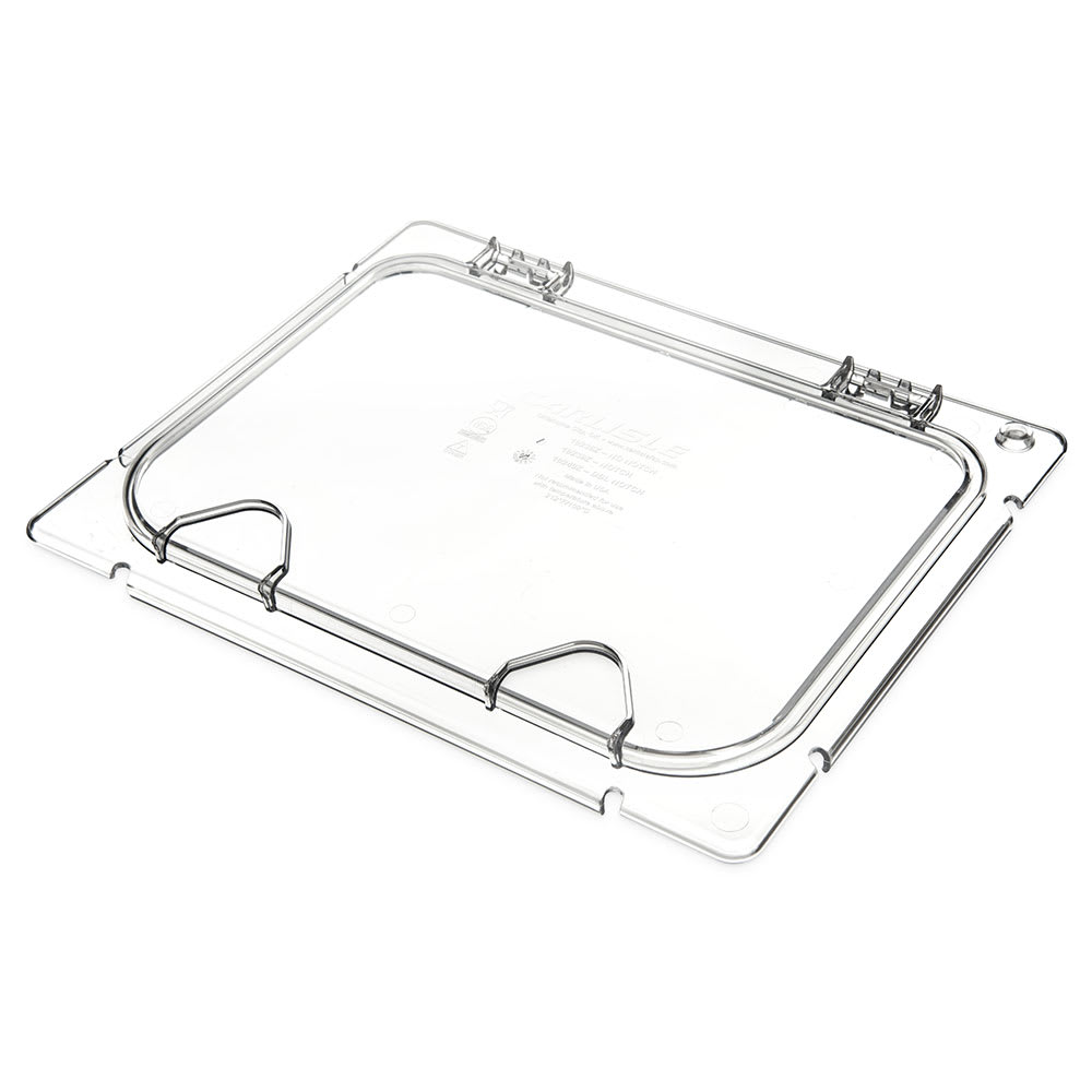 Carlisle CM10239Z07 Coldmaster® EZ Access Lid for 1/2 Size Food Pan, Clear