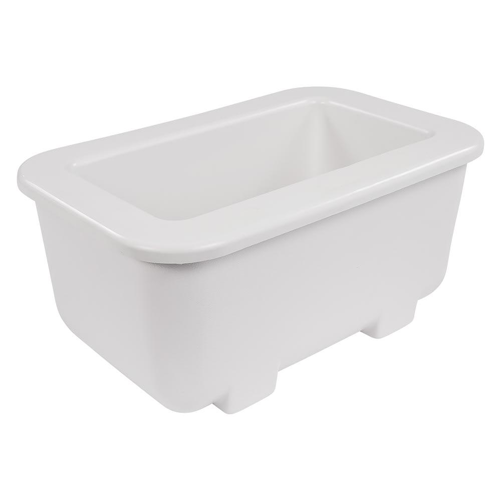 Carlisle CM104502 Third Size Food Pan Holder - Plastic, White