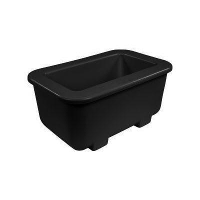 Carlisle CM104503 Coldmaster® 1/3 Size Coldpan, Black