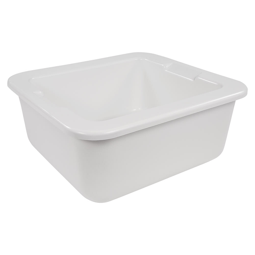 Carlisle CM104602 Two-Thirds Sized Food Pan Holder - Plastic, White