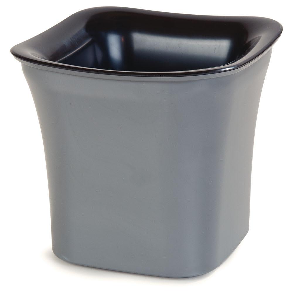 Carlisle CM1401444 2-qt Coldmaster® Crock - Refrigerant Gel Insulated, Black Charcoal