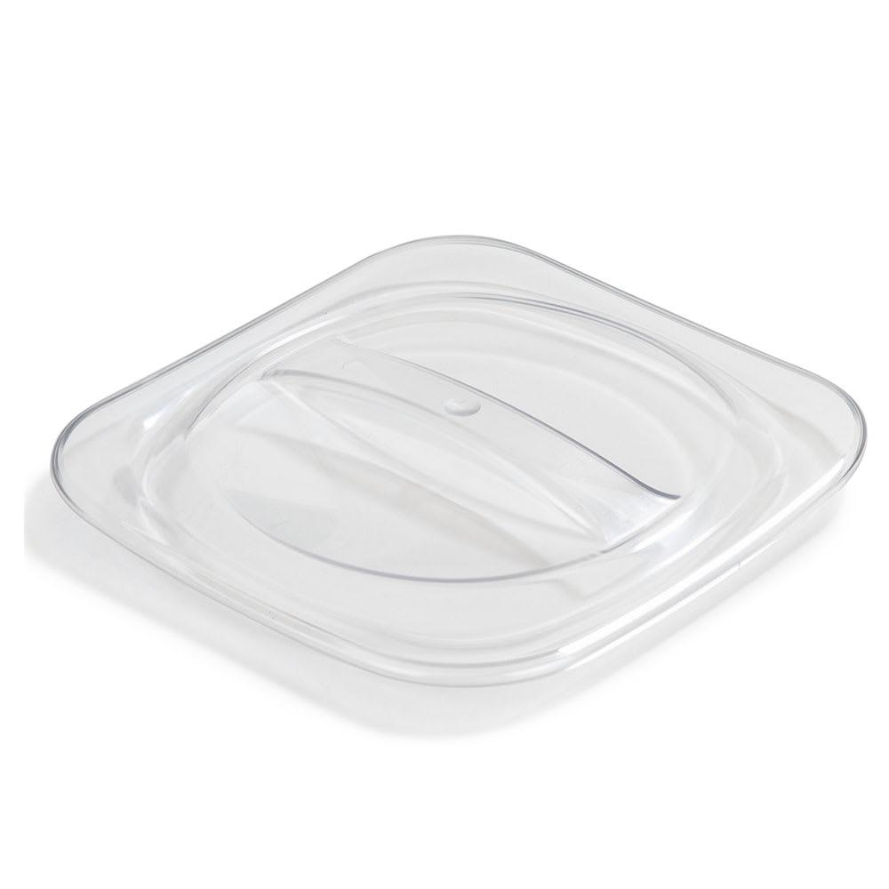 Carlisle CM140307 Lid for Coldmaster® 1-qt Crocks - Polycarbonate, Clear