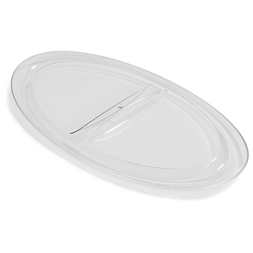 Carlisle CM140707 Lid for Coldmaster® 5 qt Crocks - Polycarbonate, Clear