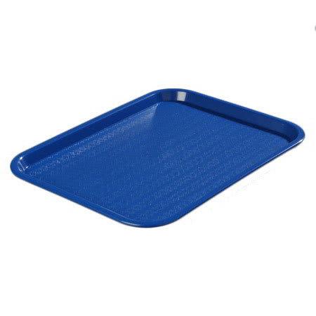 "Carlisle CT1418-81-14 Rectangular Cafe Tray - (6/Pk) 17-7/8x14"" Blue"
