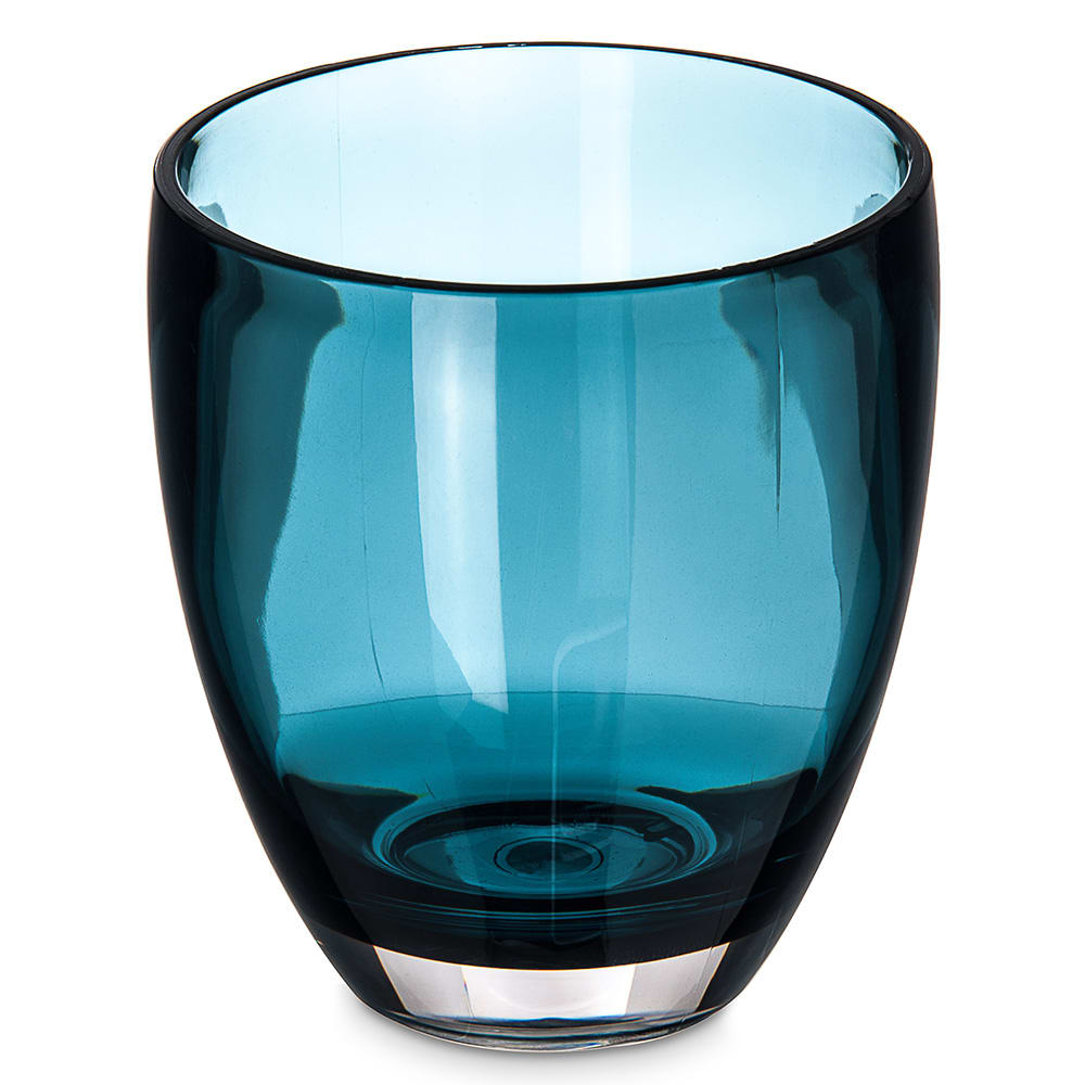 Carlisle EP5015 14-oz Double Old Fashioned Glass - Tritan Plastic, Aqua