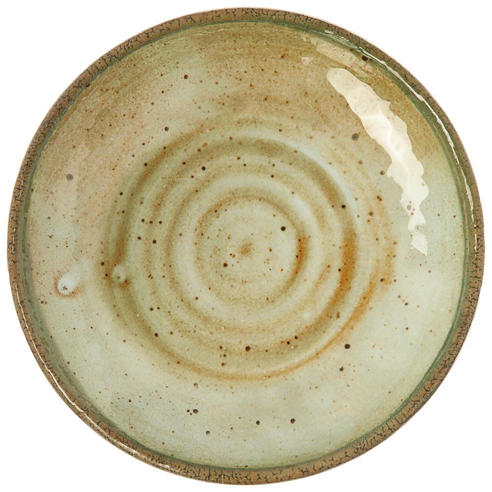 "Carlisle GA5500270 9"" Round Salad Plate - Melamine, Adobe"