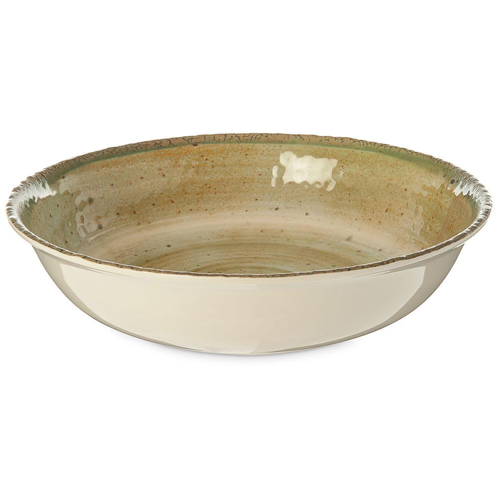 "Carlisle GA5500570 14.75"" Round Serving Bowl w/ 4.8-qt Capacity, Melamine, Adobe"
