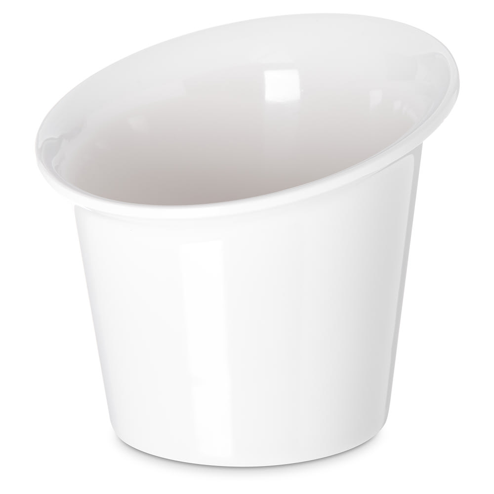 Carlisle HAL0102 12 oz Halcyon Appetizer Cup - Melamine, Bone