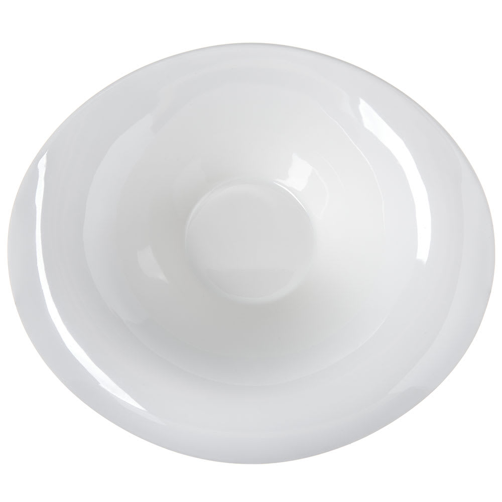 Carlisle HAL1302 3-oz Oval Halcyon Lily Bowl - Melamine, Bone