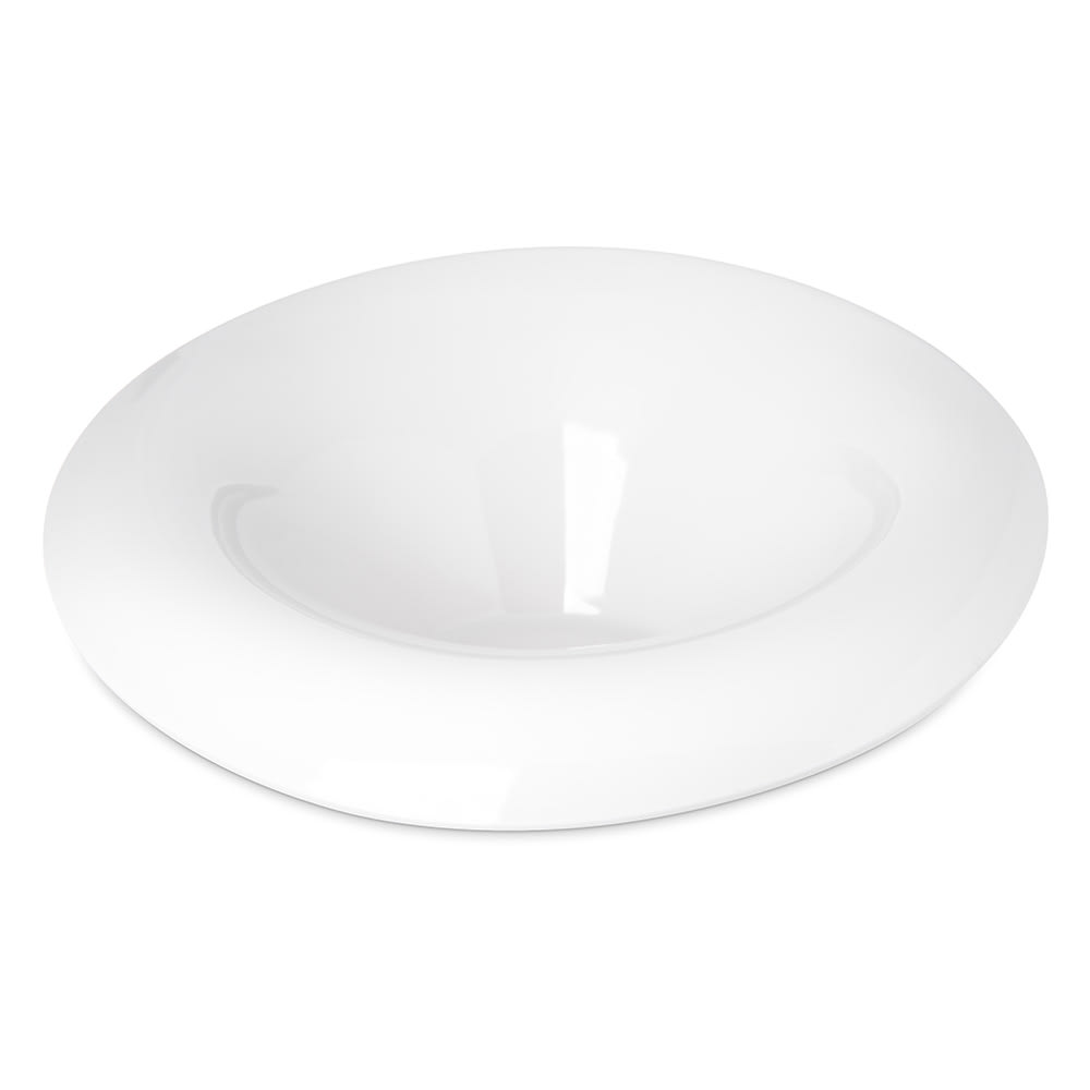 Carlisle HAL1402 8-oz Oval Halcyon Lily Bowl - Melamine, Bone