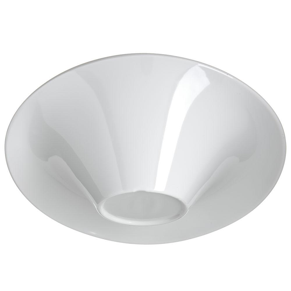 Carlisle HAL1502 10-oz Oval Halcyon Lily Bowl - Melamine, Bone