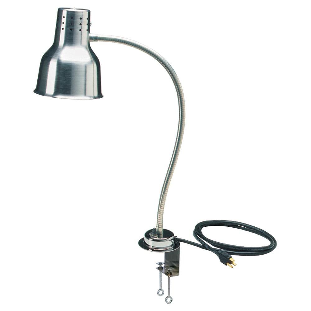 "Carlisle HL8185C00 24"" Heat Lamp - Counter Mount, Aluminum, 110-120v"