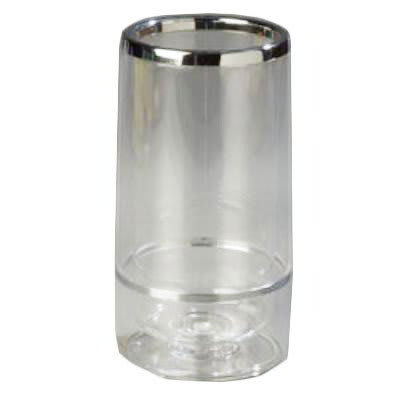 Carlisle IG22207 Acrylic Wine Server, Insulated, Acrylic, w/ Clear Base